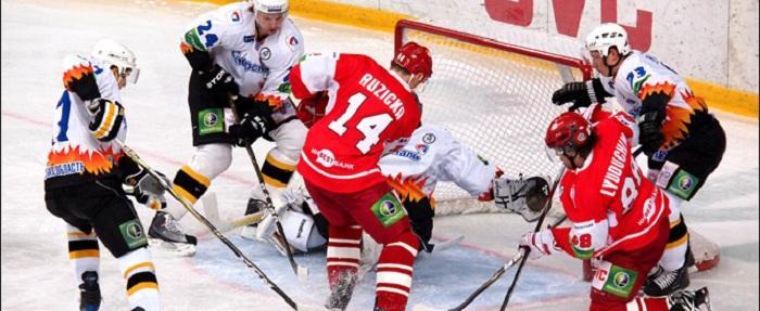 «Северсталь» одолела в овертайме «Спартак» и еще может зацепиться за плей-офф