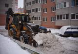 Сергей Воропанов оценил работу коммунальщиков по уборке снега