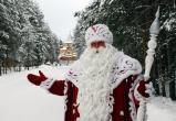 Дед Мороз и Снегурочка принимают поздравления с профессиональным праздником