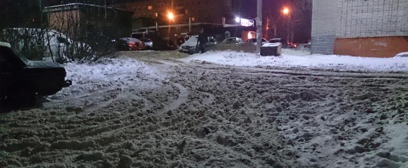 Обязанность по уборке улиц от снега