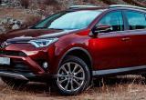 Самым популярным кроссовером 2017 года стала Toyota RAV4