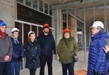 Новую школу на улице Северной в Вологде показали родительскому комитету