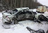 В Сокольском районе на трассе в лобовом столкновении погиб мужчина (ФОТО)