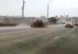 Опубликовано видео смертельного ДТП на Мызинском мосту в Нижнем Новгороде