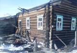 В Бабушкинском районе пенсионер сгорел вместе с собственным домом