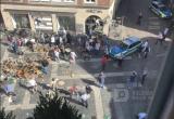 Теракт в Германии - 50 пострадавших при наезде грузовика на кафе (ВИДЕО,ФОТО)