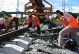 На участке Семигородняя – Харовская проводится ремонт ж/д путей