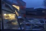 В Рыбинске обрушилась крыша супермаркета Дикси (ВИДЕО)