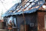 В Вологодском районе жилой дом тушили пять пожарных расчетов