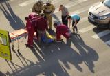 Кровавое  ДТП в Череповце:  тяжелые травмы  получила женщина-пешеход (ФОТО)