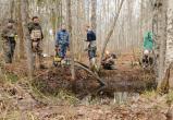 Сотней бойцов вологодского поискового отряда найдены 127 бойцов отечественной войны