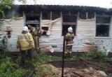 Мать с сыном погибли при пожаре на Вологодчине (ФОТО)