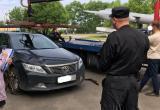 Женщина, накопившая 850 тыс. руб. долга, лишилась дорогой иномарки