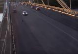 В Череповце у ВАЗа-2106 на ходу оторвалось колесо (ВИДЕО)