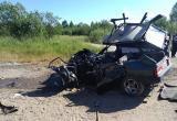 Серьезная авария в Сокольском районе: «девятка» всмятку (ФОТО)