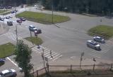 ДТП в Череповце: «Лексус» на скорости протаранил «Оку» (ВИДЕО)