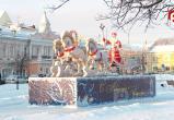 8 миллионов рублей на Новый год освоят в областном центре