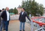 Мэр города Сергей Воропанов вновь отказался принимать ремонтные работы на Красном мосту