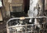 В Вологодской области заживо сгорел хозяин дома
