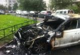 В Вологде сгорела угнанная «Audi»