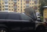 Опять поджог внедорожника в центре Вологды: ущерб почти 2 млн. рублей (ФОТО)