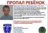 ВНИМАНИЕ! В Вологодской области пропал 10-летний мальчик (ФОТО)