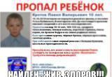 Подробности пропажи 10-летнего ребенка в Вологодской области: Мальчик ушел к соседям и был там, пока его искали 60 человек