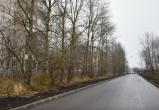 В Вологде появилась асфальтированная дорога на улице Возрождения