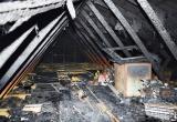 Деревянный дом загорелся в Вологде из-за неисправной печи: Хозяина ищут