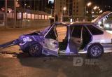 Пьяные череповчане угнали автомобиль собутыльника и попали в ДТП