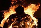 Вологжанин  поджог свой дом на улице Клубова  и сгорел живьем