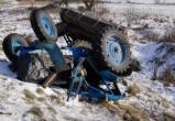 В Вологодском районе трактор разорвало пополам: пострадали пятеро - двое водителей и трое пассажиров (ФОТО)