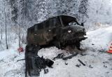 Четыре человека травмировались в лобовом ДТП под Великим Устюгом (ФОТО)