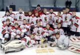 Юные хоккеисты выиграли золото на межрегиональном турнире
