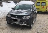 Одна пенсионерка на джипе сбила другую в Череповце: пострадавшая в тяжелом состоянии в больнице (ФОТО)