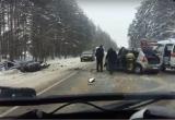 Очередное ДТП в Вологодской области: есть пострадавшие