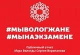 Администрация Вологды сегодня отчитается перед народом в режиме онлайн