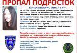 В Вологодской области пропала несовершеннолетняя девушка