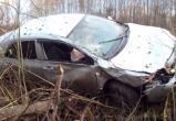 Под Вологдой вылетела в кювет «Шкода Октавия», водитель в больнице