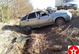 Под Шексной попала в аварию начинающая автоледи с 13-летним сыном