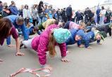 Вологжане установили «Рекорд Победы» в 27,5 тысяч отжиманий