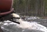 МУП «Чагодаводоканал» отправлял ассенизаторские машины сливать нечистоты прямо в поле