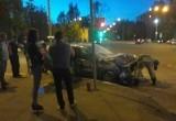 Авария с участием такси произошла в Вологде