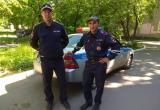 Полицейские в Вологодской области помогли автомобилисту в сложной ситуации