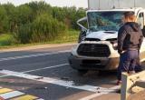 ДТП по Череповцом: лобовое столкновение двух грузовиков
