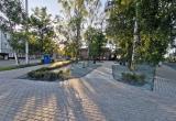 В Вологде завершается реконструкция сквера на Советском проспекте