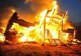 В Череповецком районе сгорели четыре бани
