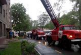 В Вологде во время пожара пришлось эвакуировать ребенка и троих взрослых