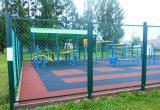В Устье построили спортивную площадку для выполнения норм ГТО