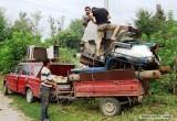 Группа родственников украла из исправительной колонии более 600 кг металлолома в Устюженском районе